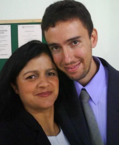 Fábio Fernandes e Ana Cristina